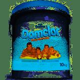 Cloro granulado Domclor Balde 10kg  Hipoclorito de Sódio 65% para piscinas