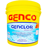 Cloro Granulado Genclor Genco balde 10kg - Piscinas