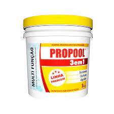 Cloro Hidroall Propoll 3em1 - Balde 3Kg