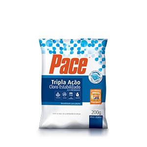 Cloro Pace Tripla Ação Saco Tablete 200g