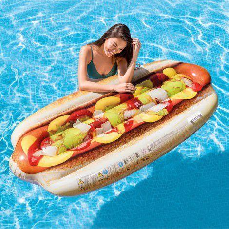 Colchão Inflável Hot-Dog Adulto 1.08cm x 89cm - Intex