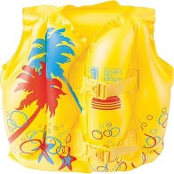 Colete inflável infantil Amarelo - Belfix