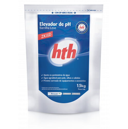 Elevador de Ph em pó saco 1.5k Hth