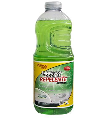 Eliminador de Odores Genco Pet Citronela 2 litrosd