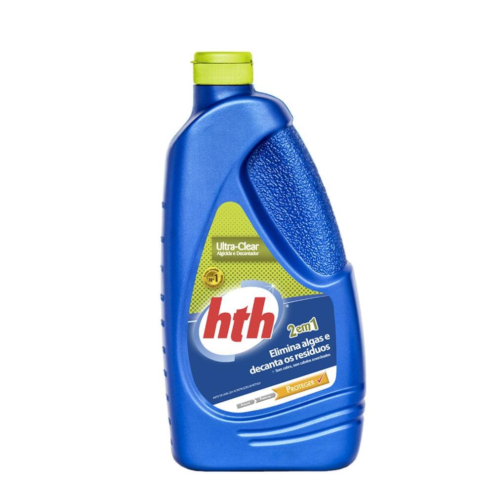 HTH  Ultra Clear - Previne algas e decanta resíduos 1 Litro