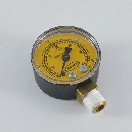 Manômetro 40D - 60 PSI para piscinas - Original Jacuzzi