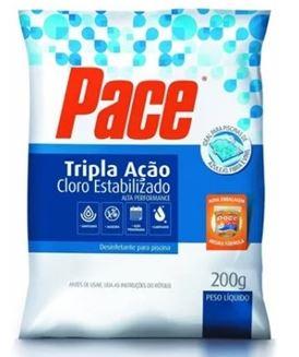 Pastilha Cloro Pace Tripla Ação Saco Tablete 200g