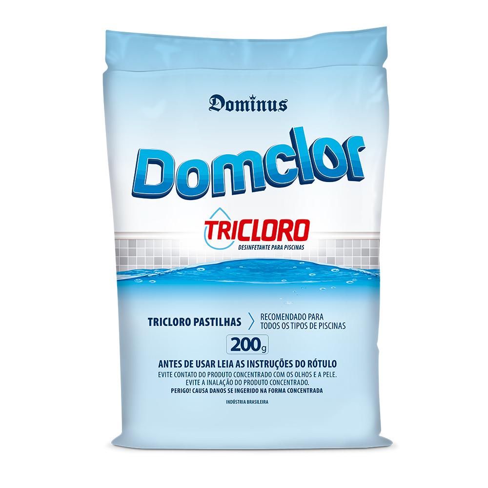 Pastilha de Cloro Donclor Tricloro 200g
