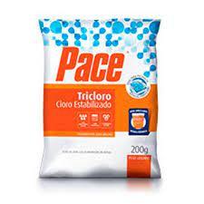 Pastilha Pace tricoloro - Cloro estabilizado Tablete - 200 grs
