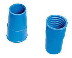 Ponteira 38mm Azul Rosca  - Fortyflex