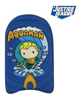 Prancha De Natação Warner Chibi 44 cm Liga da Justiça Aquaman - BelFix