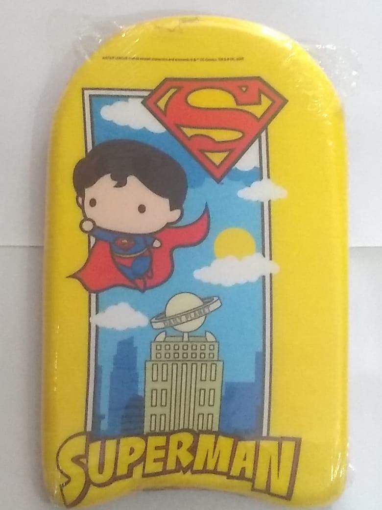 Prancha De Natação Warner Chibi 44 cm Liga da Justiça Super Man  - BelFix