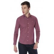 Camisa Di Sotti Slim Fio 60  Cereja
