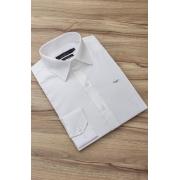 Camisa Di Sotti Slim Fit com Elastano Off White