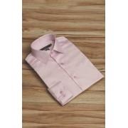 Camisa Di Sotti Slim Fit Rosa