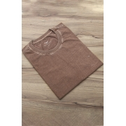 Camiseta Di Sotti T-Shirt manga curta Marrom claro