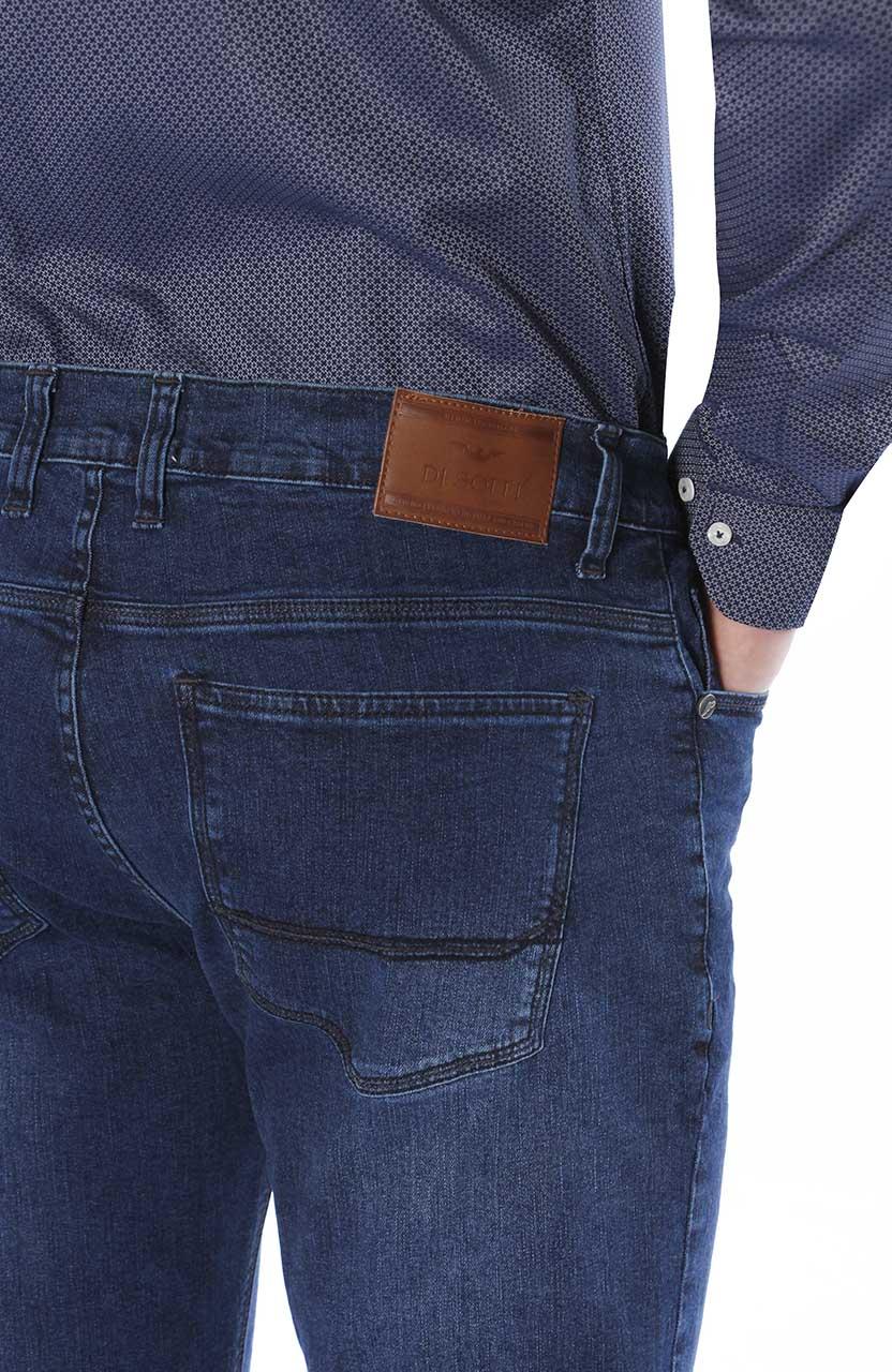 Calça Di Sotti Slim Jeans Marinho