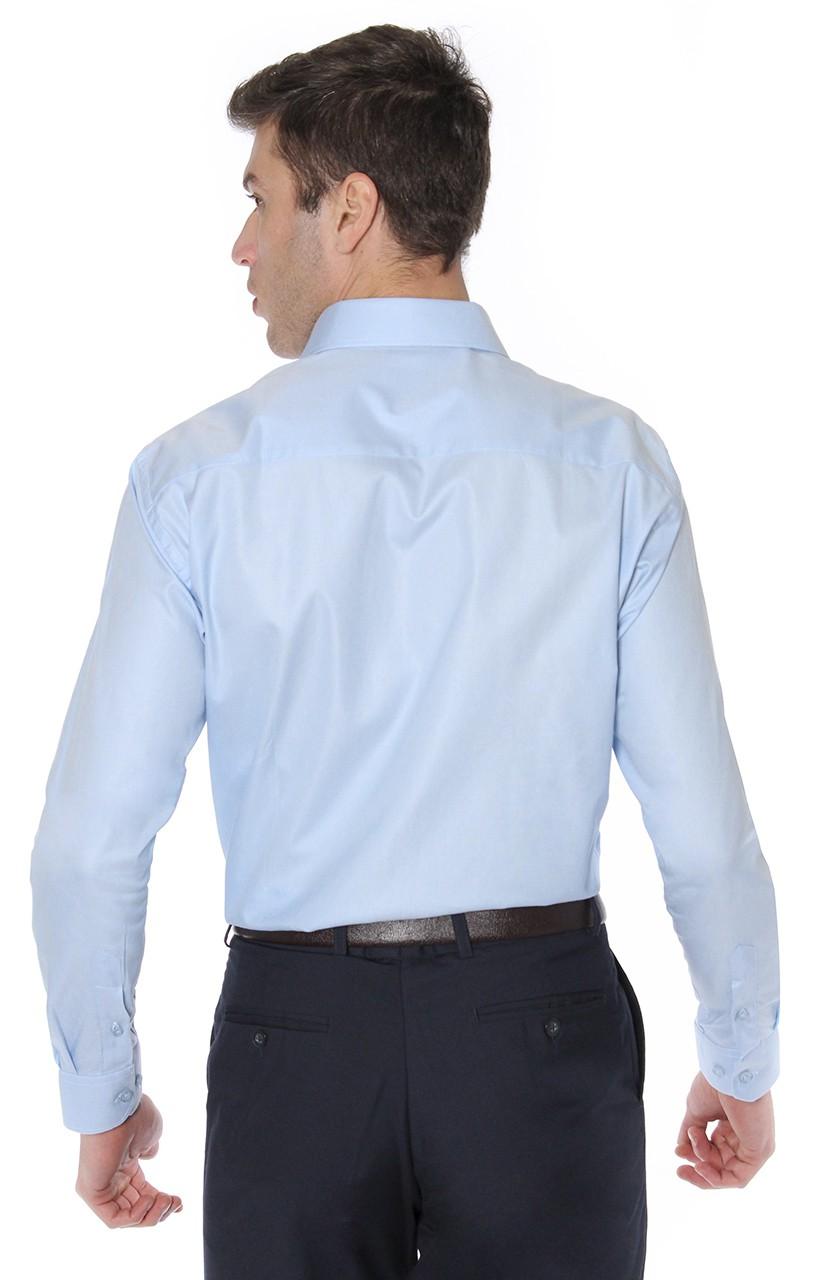 Camisa Di Sotti Comfort Azul clássico