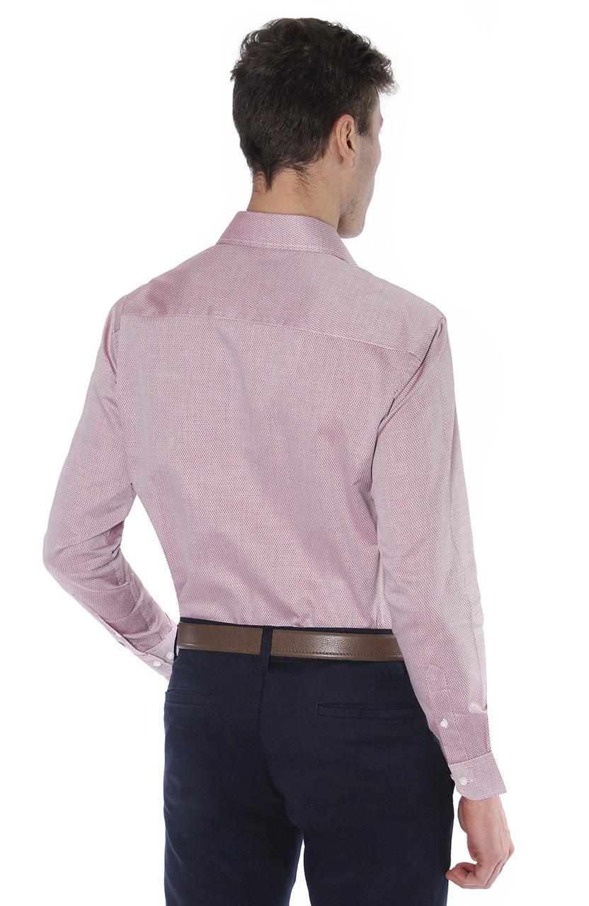 Camisa Di Sotti Comfort Capon Fio 60 Vermelho