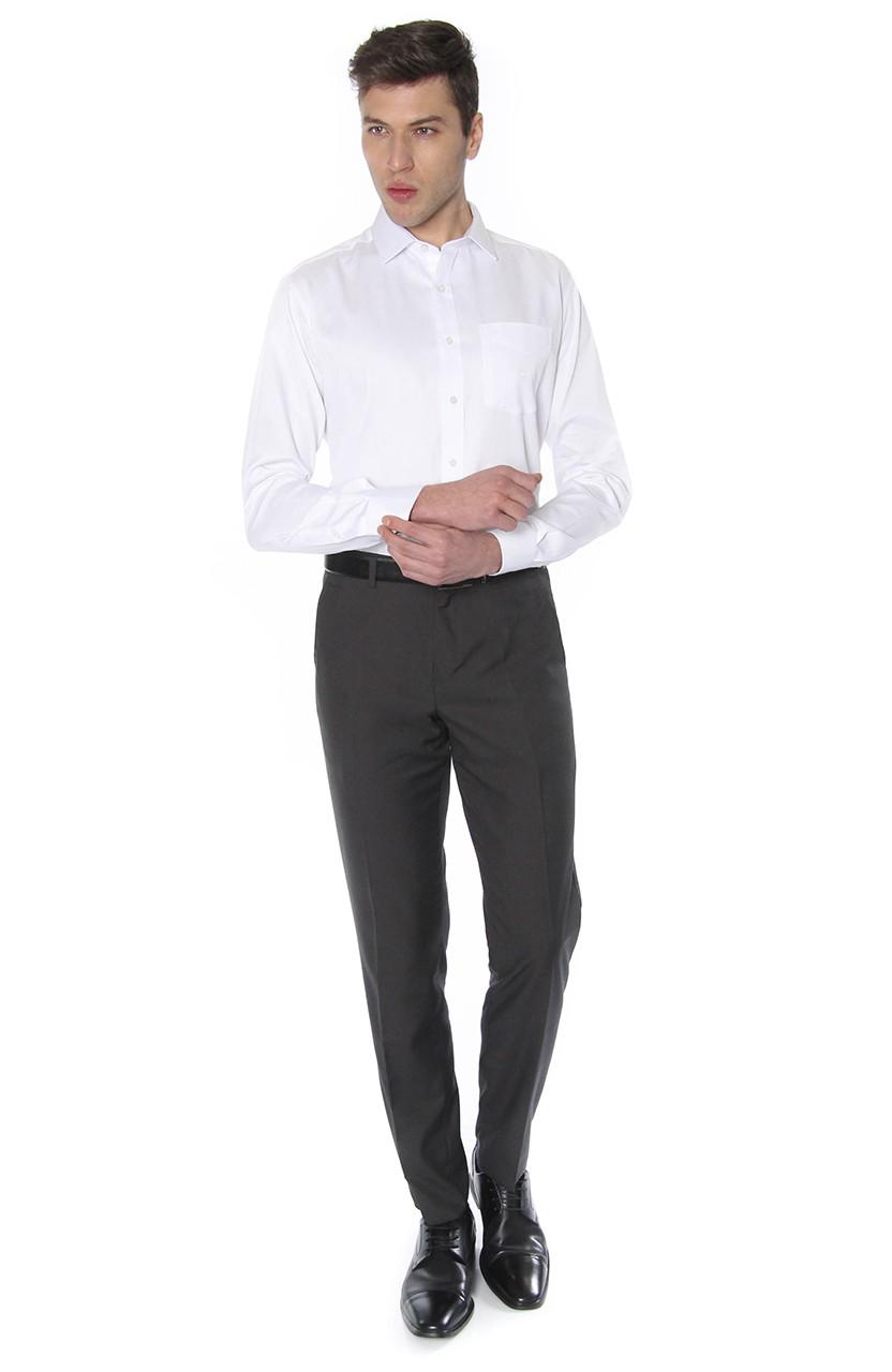 Camisa Di Sotti Comfort Fio 60 Branco