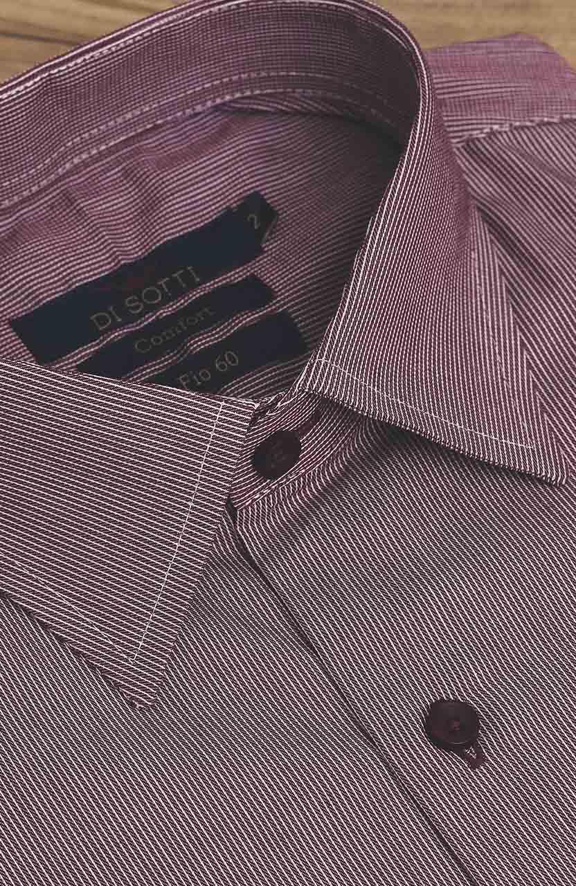 Camisa Di Sotti Comfort Fio 60 Cereja