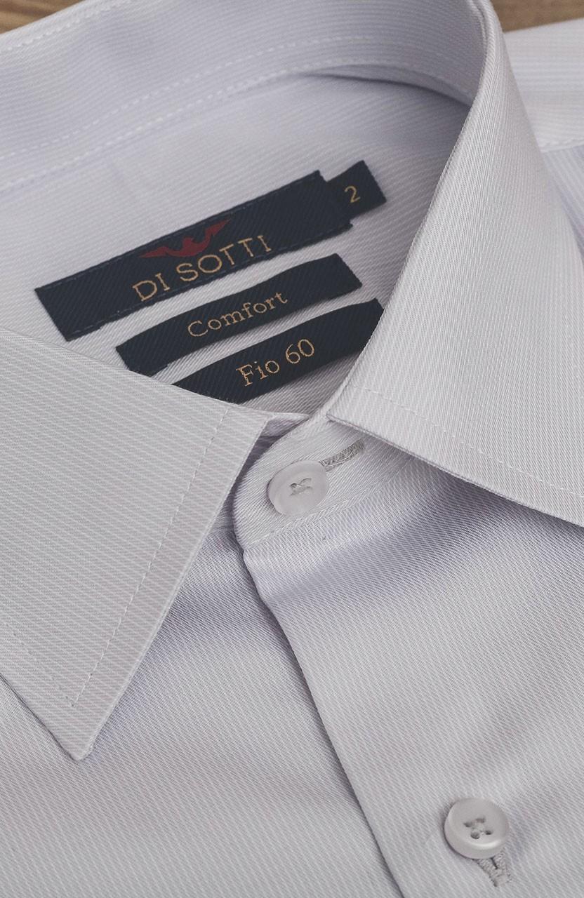 Camisa Di Sotti Comfort Fio 60 Gelo