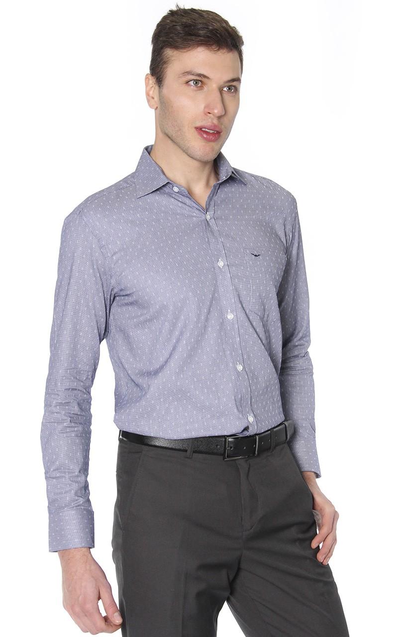 Camisa Di Sotti Comfort Parma Marinho