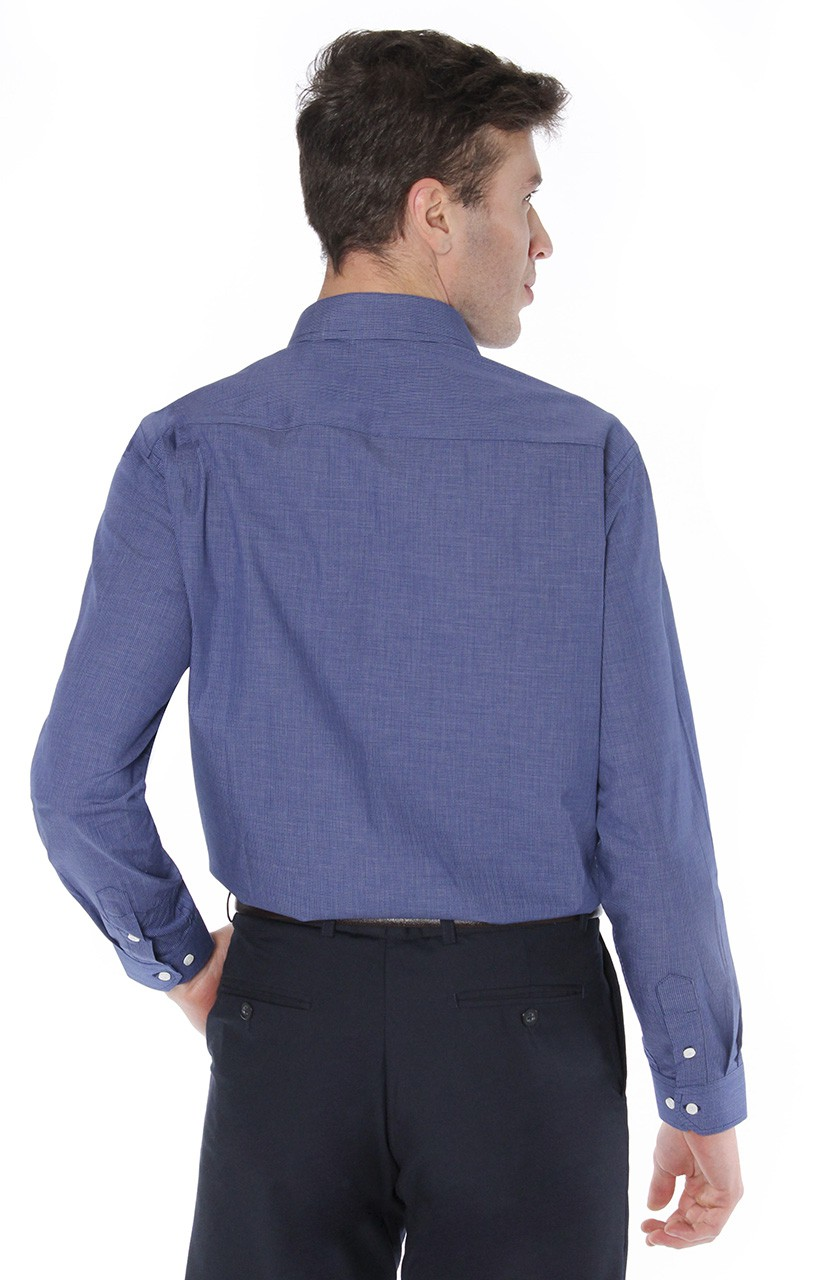 Camisa Di Sotti Comfort Urban Marinho