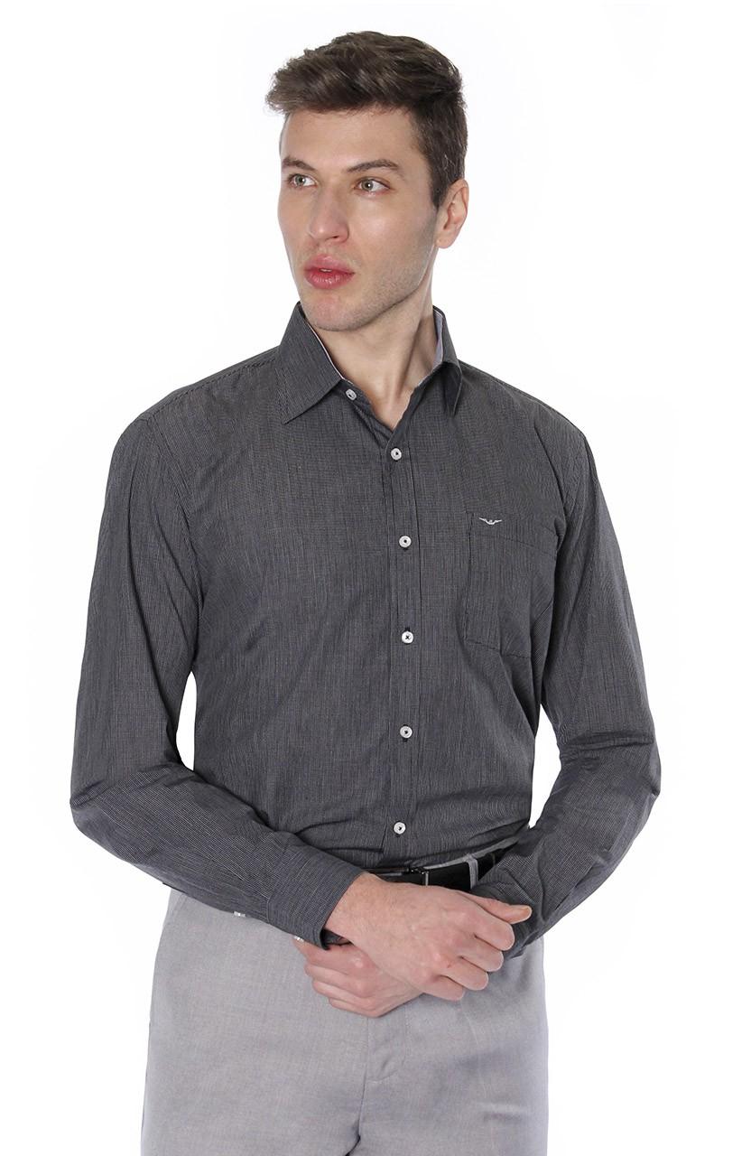 Camisa Di Sotti Comfort Urban Preto