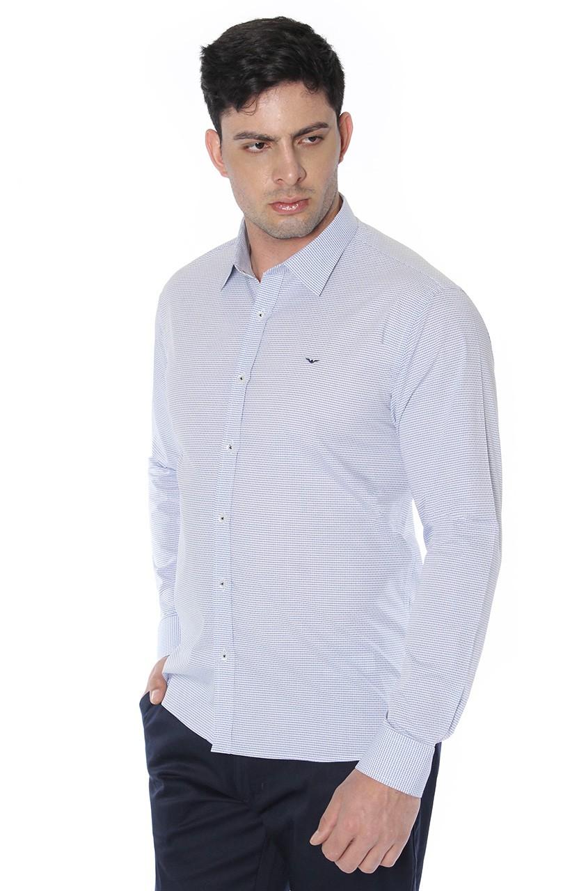 Camisa Di Sotti Slim Brindsi Gelo