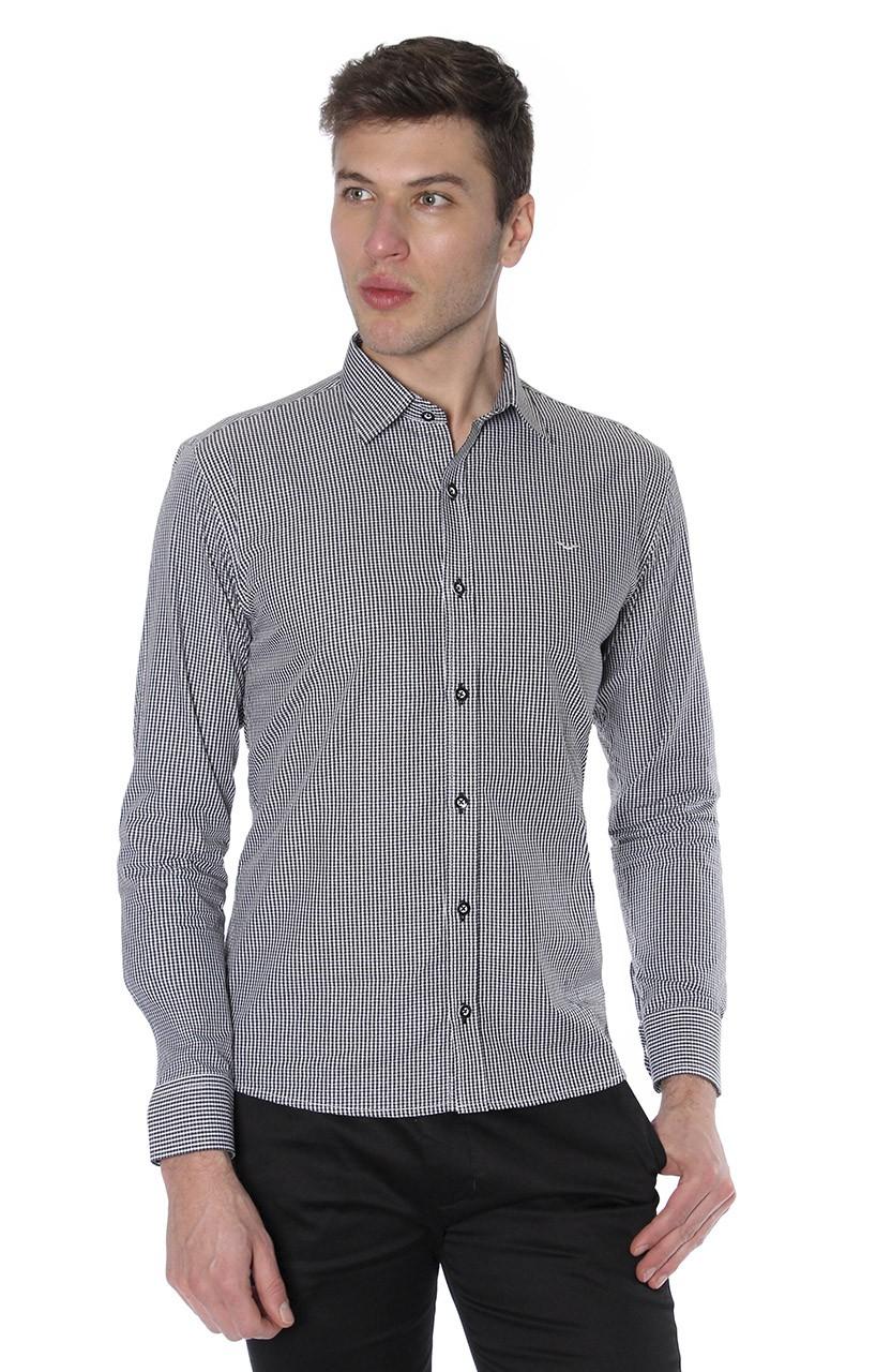 Camisa Di Sotti Slim Brindsi Preto