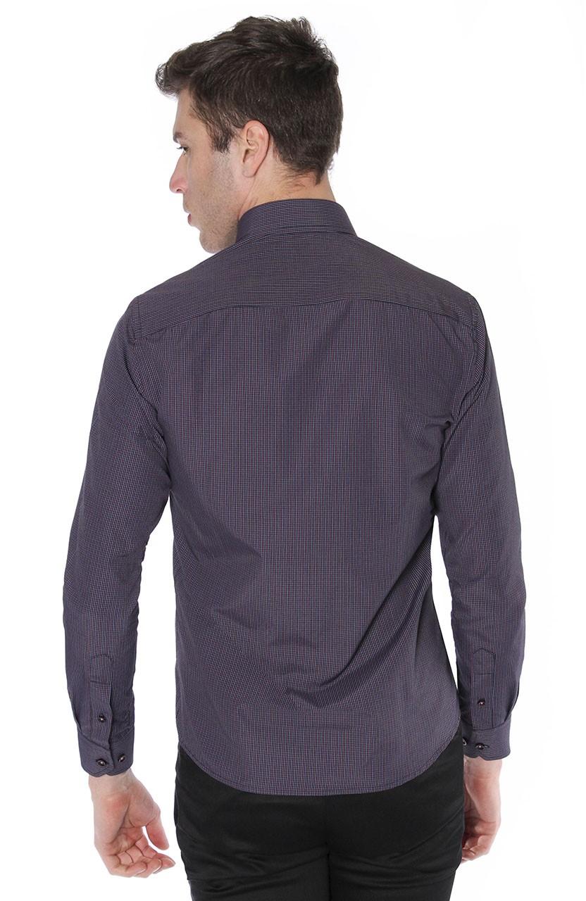 Camisa Di Sotti Slim Enzo  Preto