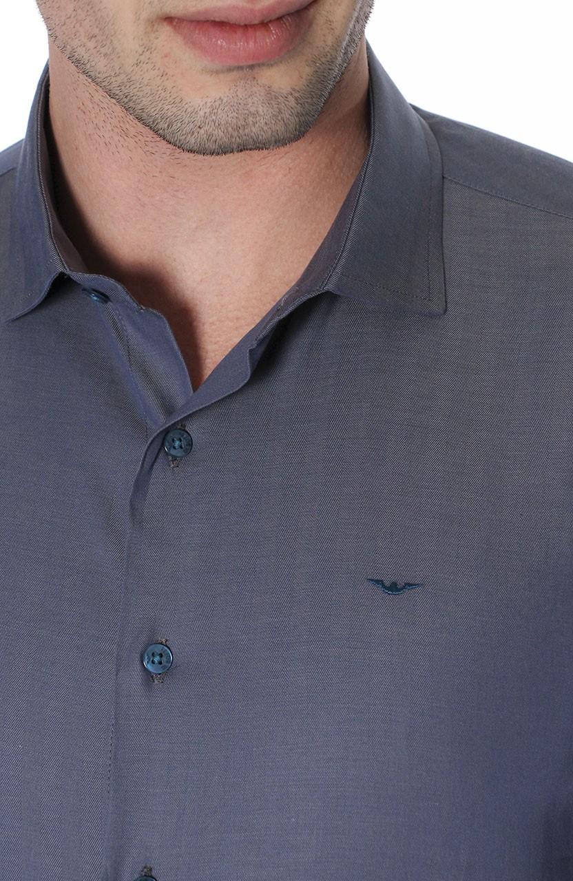 Camisa Di Sotti Slim Fio 60 Aço