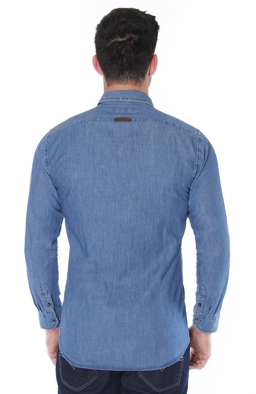 Camisa Di Sotti Slim Jeans Stonado