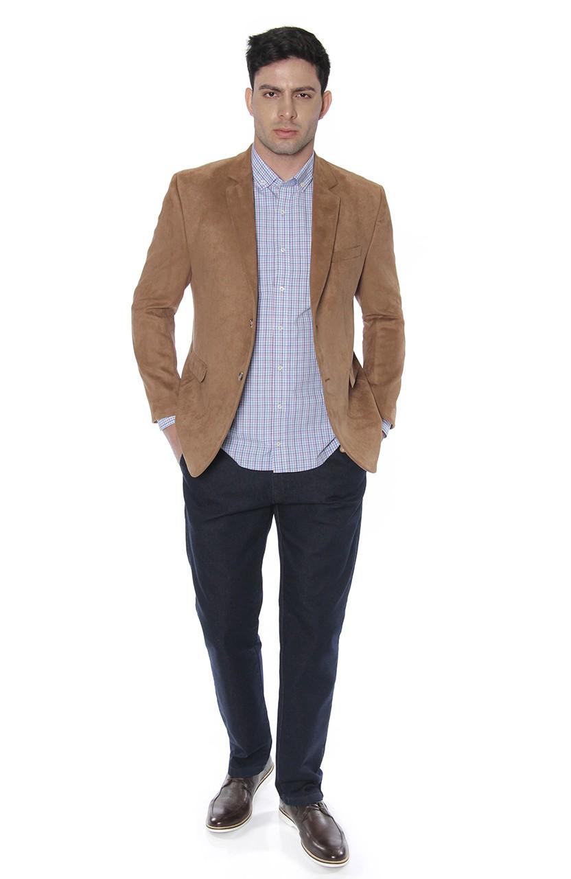 Camisa Di Sotti Slim Xadrez Fio 80 Amarelo