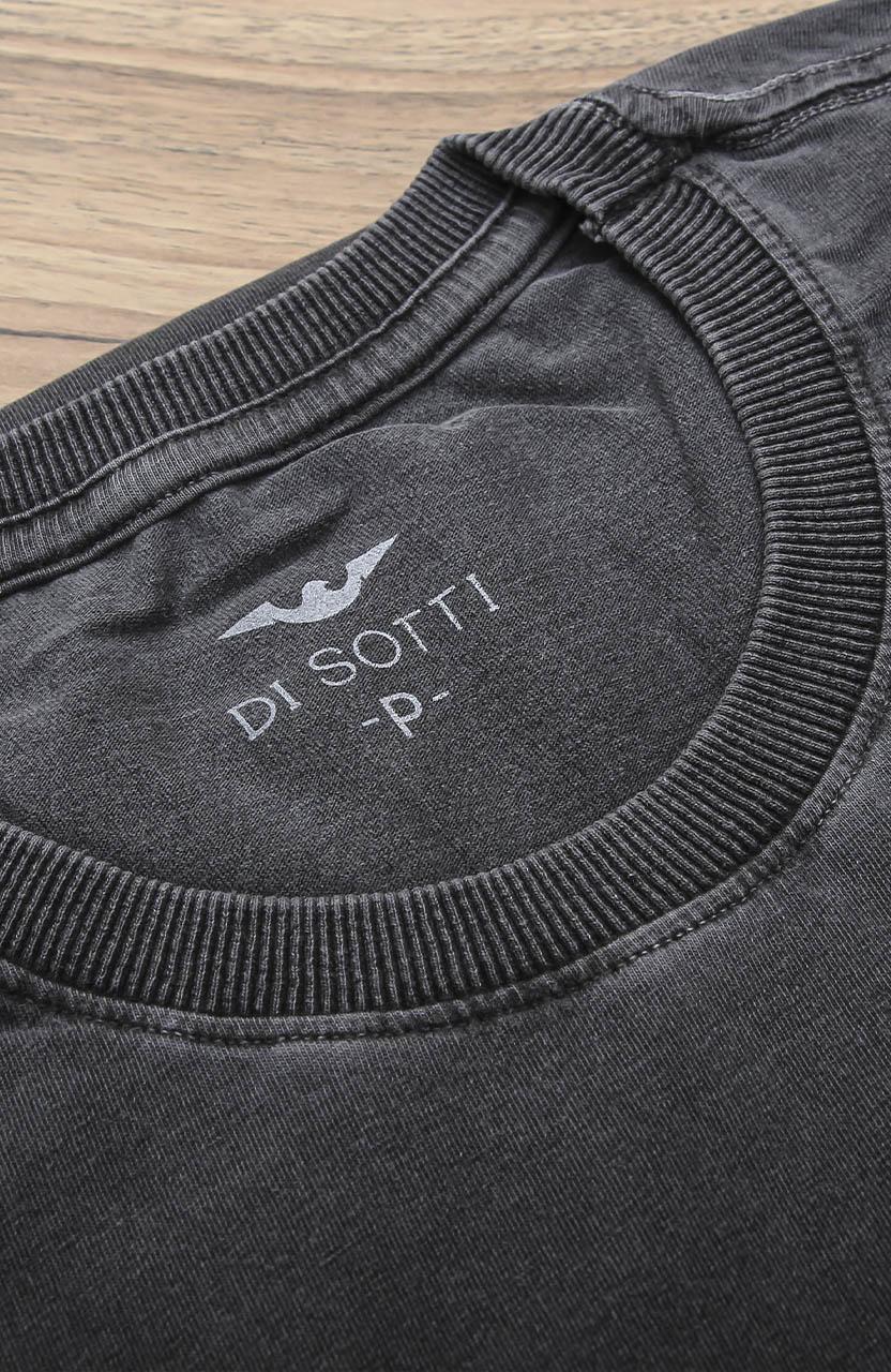 Camiseta Di Sotti T-Shirt manga curta Aço