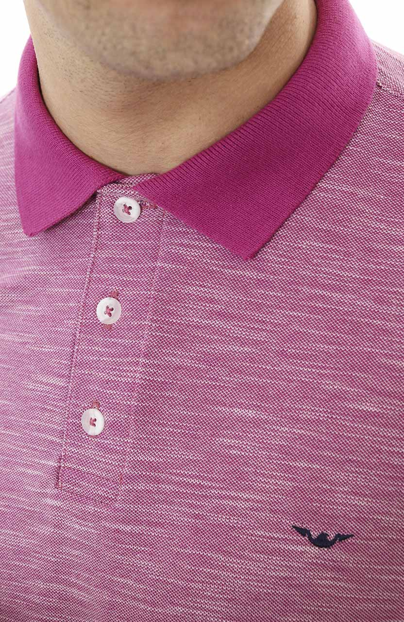 Polo Di Sotti Flame Mescla Pink