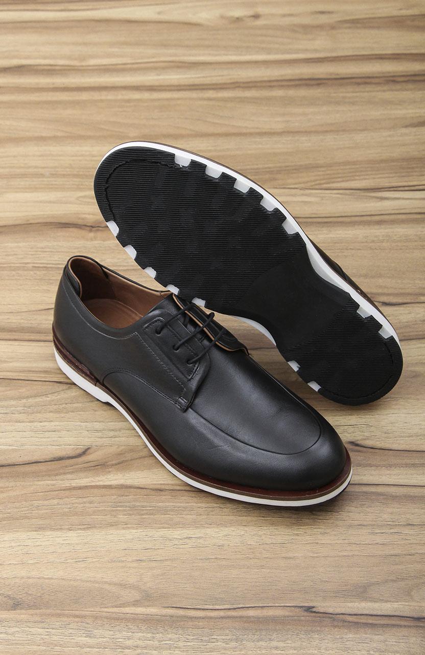Sapato Di Sotti Vitelo Casual Preto