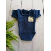 Body Bolso Júnior Newborn Azul Tirreno