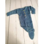 Body Jolie Angorá Newborn Azul
