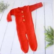 Body Jolie Newborn Carmim