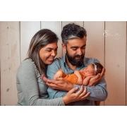 Macacão Joy Newborn Caramelo