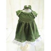 Vestido Malu Verde musgo