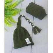 Wrap Soft e Touca Sonequinha Militar