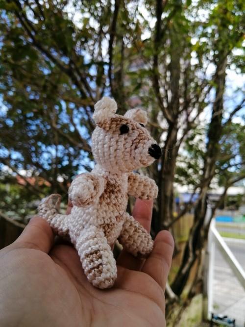 Amigurumi Canguru Mini