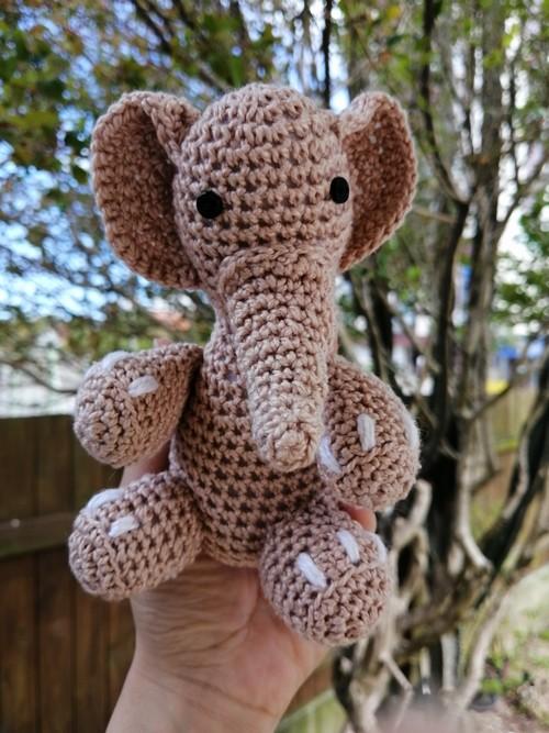 Amigurumi Elefantinho