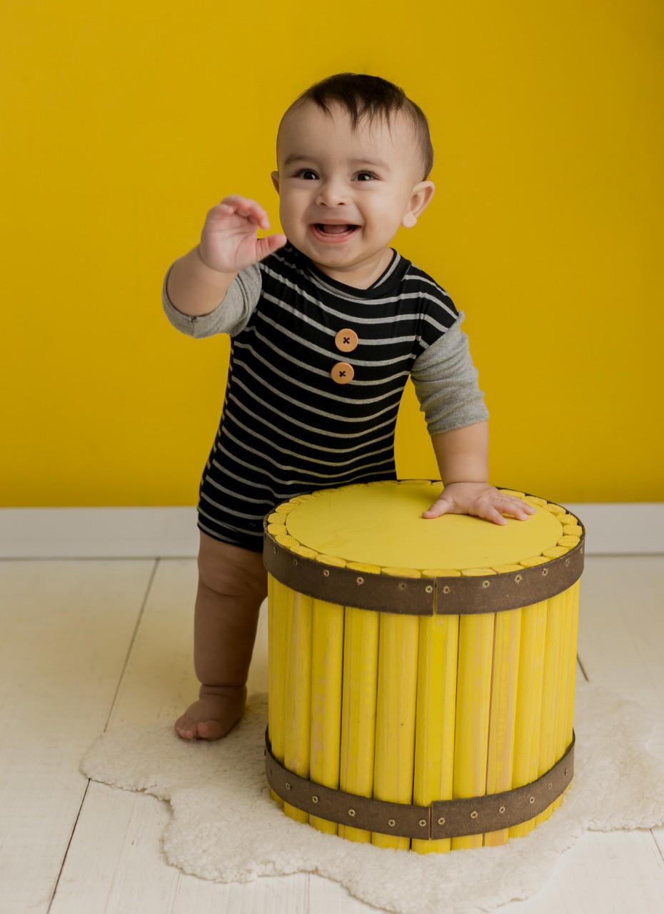 Baldinho Amarelo Pátina