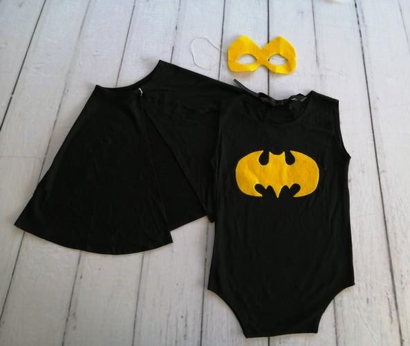 Body Capa e Máscara Batman  Acompanhamento