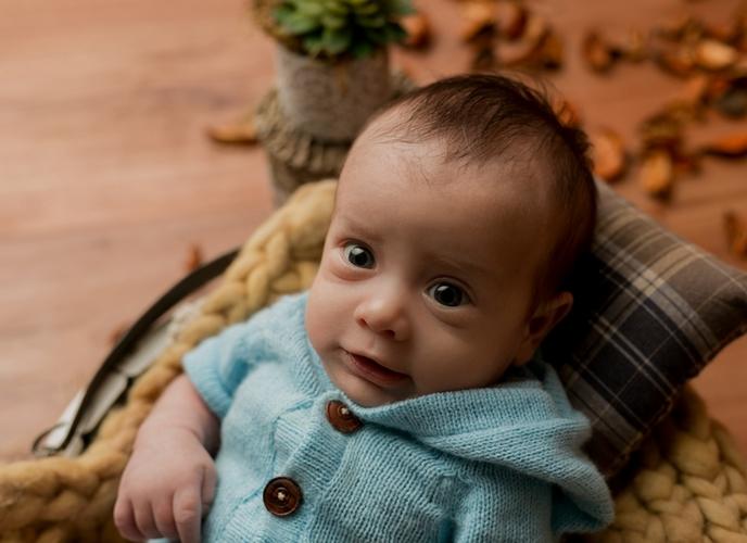 Body Capuz Azul bebê