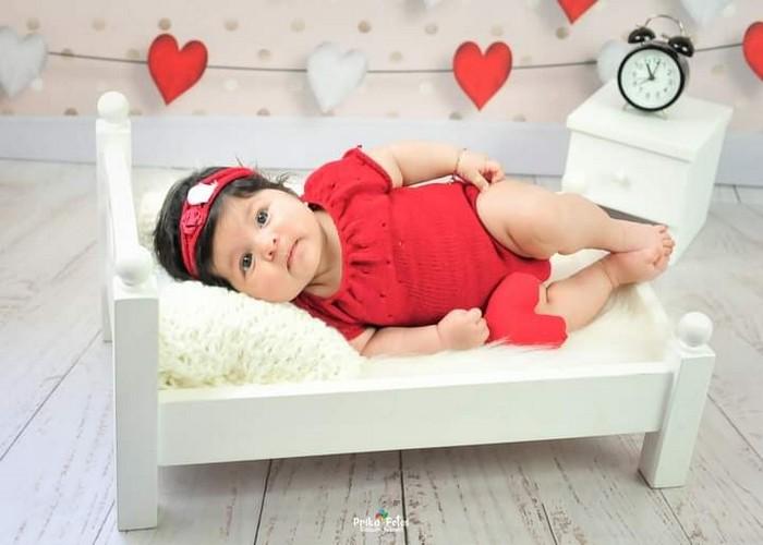 Body Chanel e Headband Newborn Bordô